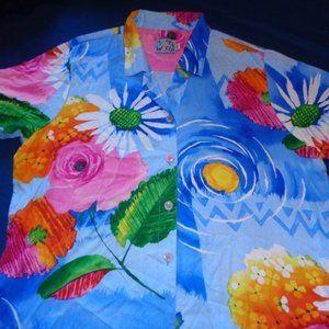 Jams World Floral Shirt W624-Ravi Ravishing